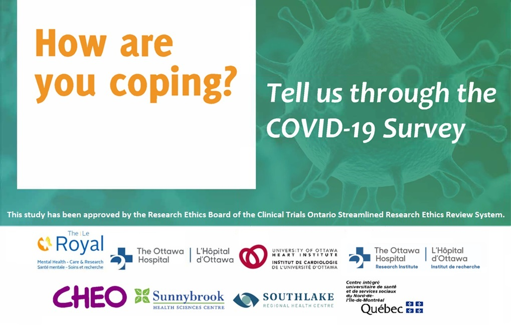How are you coping? Tell us through the COVID-19 Survey graphic