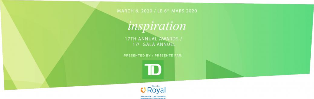 The Royal, Inspiration Awards, Gala