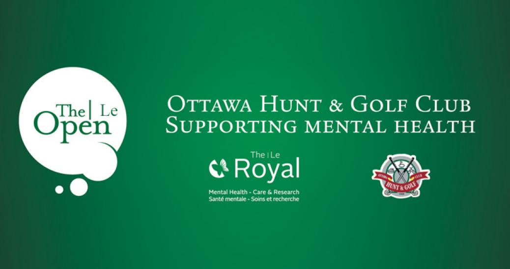 The Royal's Open Golf Tournament in support of mental health care and research