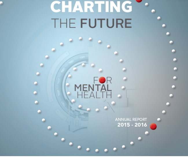 2015-2016 Charting the Future Annual Report Cover