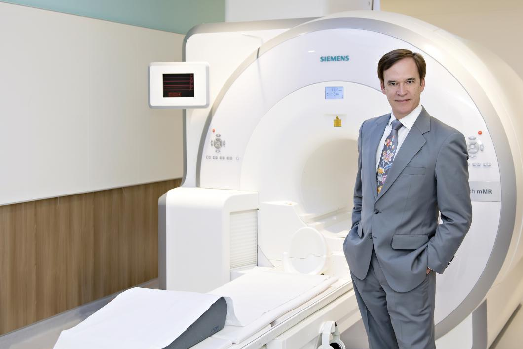 Pierre Blier in the Brain Imaging Centre